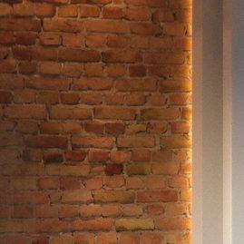 attic conversion wall