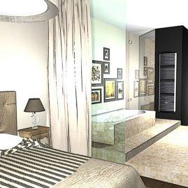 bathroom 3d rendering