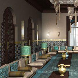 Abu Dhabi 3D rendering