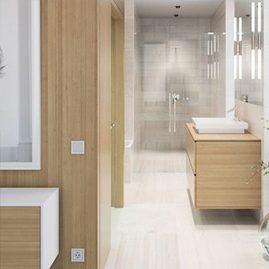 3D Rednering Bathroom